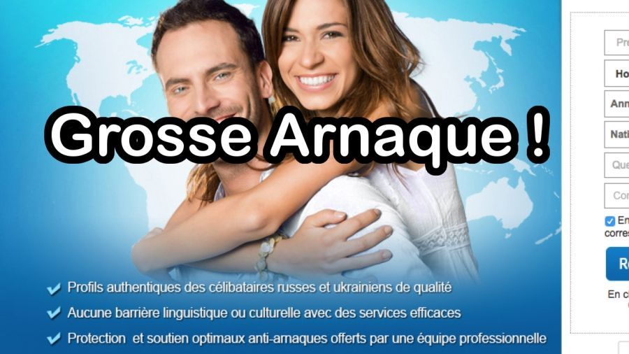 Sites escroqueries arnaque russe